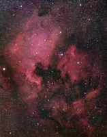 The North America Nebula Fine Art Print