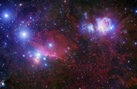 The Belt Stars of Orion Fine Art Print