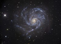 The Pinwheel Galaxy Fine Art Print