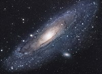 The Andromeda Galaxy (close up) Fine Art Print