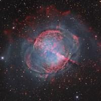 Messier 27, The Dumbbell Nebula Fine Art Print