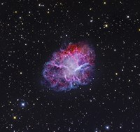 The Crab Nebula Fine Art Print