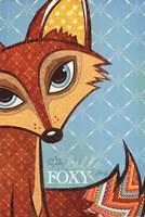 """Oh Hello Foxy by Marla Rae - 12"""" x 18"""""""