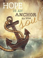 "Anchor to the Soul by Marla Rae - 12"" x 16"""