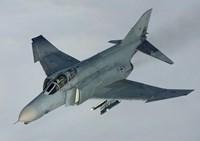 Luftwaffe F-4F Phantom II (from above) Fine Art Print