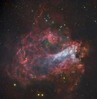 The Omega Nebula in Sagittarius Fine Art Print
