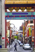 Chinatown, Little Bourke Street, Melbourne, Victoria, Australia by David Wall - various sizes