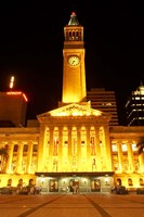 City Hall, King George Square, Brisbane, Queensland, Australia by David Wall - various sizes