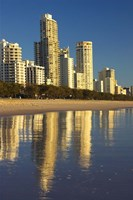Early Morning Light on Surfers Paradise, Gold Coast, Queensland, Australia by David Wall - various sizes