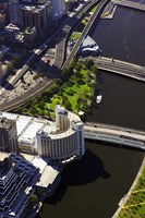 Holiday Inn and Yarra River, Melbourne, Victoria, Australia by David Wall - various sizes
