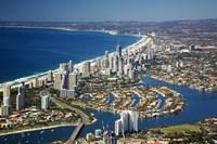 Nerang River, Surfers Paradise, Gold Coast, Queensland, Australia Fine Art Print