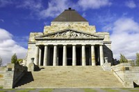 Shrine of Remembrance, Melbourne, Victoria, Australia Fine Art Print