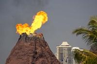 Volcano, Sea World, Gold Coast, Queensland, Australia by David Wall - various sizes
