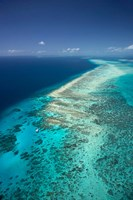 Yacht, Great Barrier Reef, North Queensland, Australia Fine Art Print