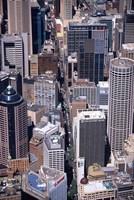 Pitt Street and Sydney CBD, Sydney, Australia by David Wall - various sizes