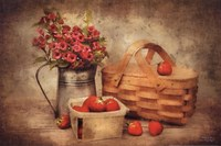 Strawberry Days Fine Art Print