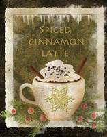 Spiced Cinnamon Latte by Beth Albert - various sizes