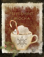 Peppermint Mocha Framed Print