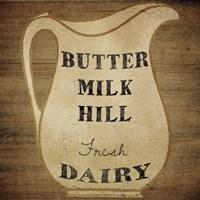 Buttermilk Hill Framed Print