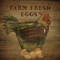 Farm Fresh Eggs Fine Art Print