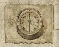 Antique Map II by Beth Albert - various sizes