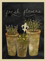 Fresh Flowers I Fine Art Print