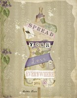 Spread Your Love Framed Print