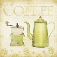 Coffee Retro by Beth Albert - various sizes
