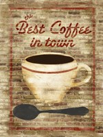 Best Coffee in Town Fine Art Print