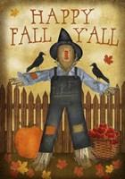 Happy Fall Y'all Fine Art Print