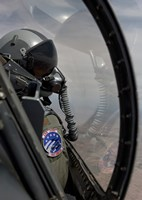F-16 Pilot Checks Position of his Wingman by HIGH-G Productions - various sizes - $30.49