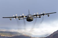 MC-130P Combat Shadow Over Scotland Fine Art Print