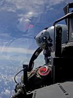F-15 Eagle Pilot with his Wingman (close up) Fine Art Print