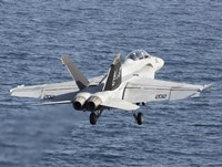 F/A-18F Super Hornet Takes Of in the Arabian Sea by Gert Kromhout - various sizes, FulcrumGallery.com brand