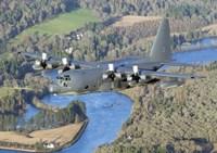 MC-130P Combat Shadow Over Scotland