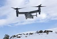 CV-22 Osprey Prepares to Land