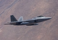 An F-22 Raptor on a Training Mission by HIGH-G Productions - various sizes