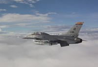 F-16 Fighting Falcon Flies with AGM-65 Maverick Missile by HIGH-G Productions - various sizes - $47.99
