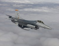 F-16 Fighting Falcon Maneuvers During a Training Mission by HIGH-G Productions - various sizes - $47.99