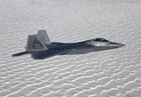 F-22 Raptor Flies Around Southern New Mexico by HIGH-G Productions - various sizes, FulcrumGallery.com brand