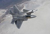 Two F-22 Raptors Maneuver over New Mexico by HIGH-G Productions - various sizes