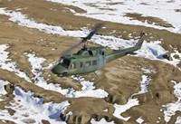 UH-1N Twin Huey, New Mexico Fine Art Print