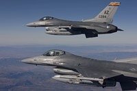 Close-Up of Two F-16's over Arizona by HIGH-G Productions - various sizes
