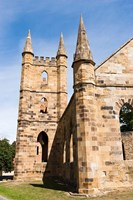 Tower at Port Arthur historic penitentiary, Australia by Pete Oxford - various sizes