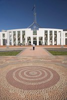 Australia, ACT, Canberra, Tile, Parliament House Building by David Wall - various sizes