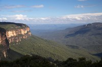 Australia, Blue Mtns, Kings Tableland, Jamison Valley by David Wall - various sizes