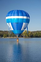 Australia, Canberra, Hot Air Balloon, Lake Burley Griffin by David Wall - various sizes