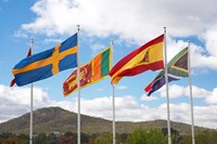 Australia, International Flags, Commonwealth Place by David Wall - various sizes