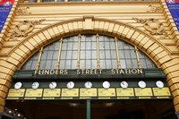Australia, Melbourne, Flinders Street Train Station Fine Art Print