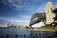 Australia, New South Wales, Sydney Harbour Bridge and CBD by David Wall - various sizes
